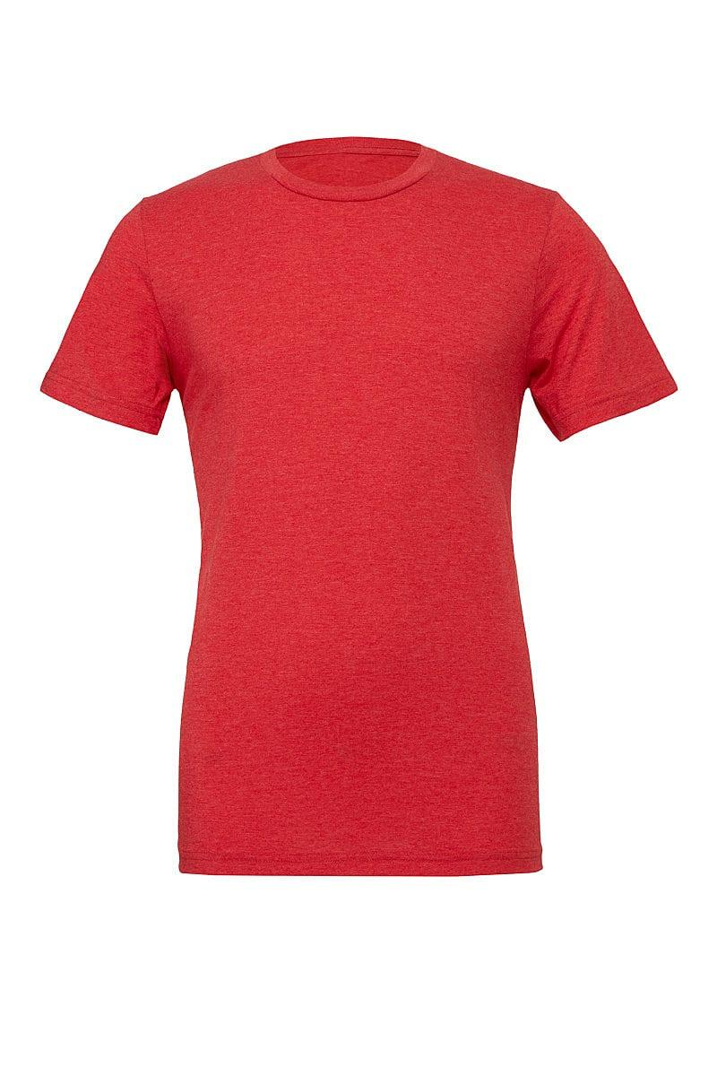 Bella Canvas Mens Tri-blend Short-Sleeve T-Shirt in Red Triblend (Product Code: CA3413)