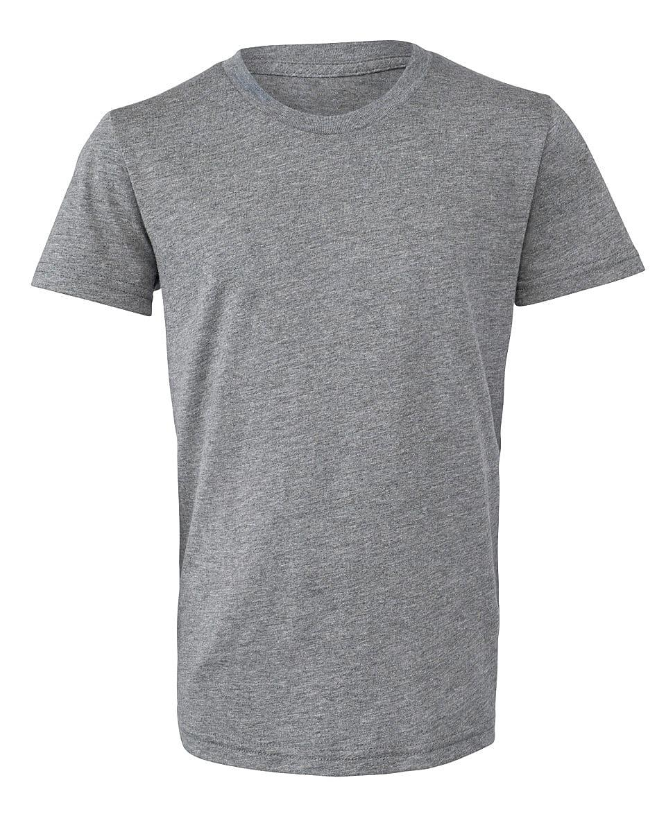 Bella Canvas Youth Triblend Short-Sleeve T-Shirt in Grey Triblend (Product Code: CA3413Y)