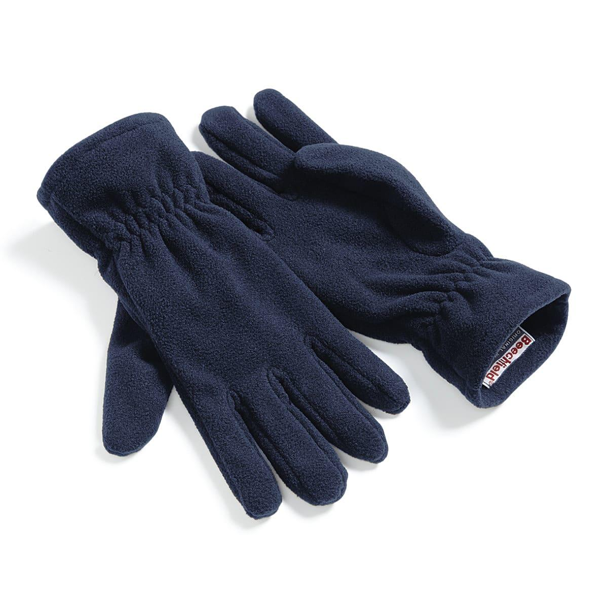 Beechfield Suprafllece Alpine Gloves in French Navy (Product Code: B296)