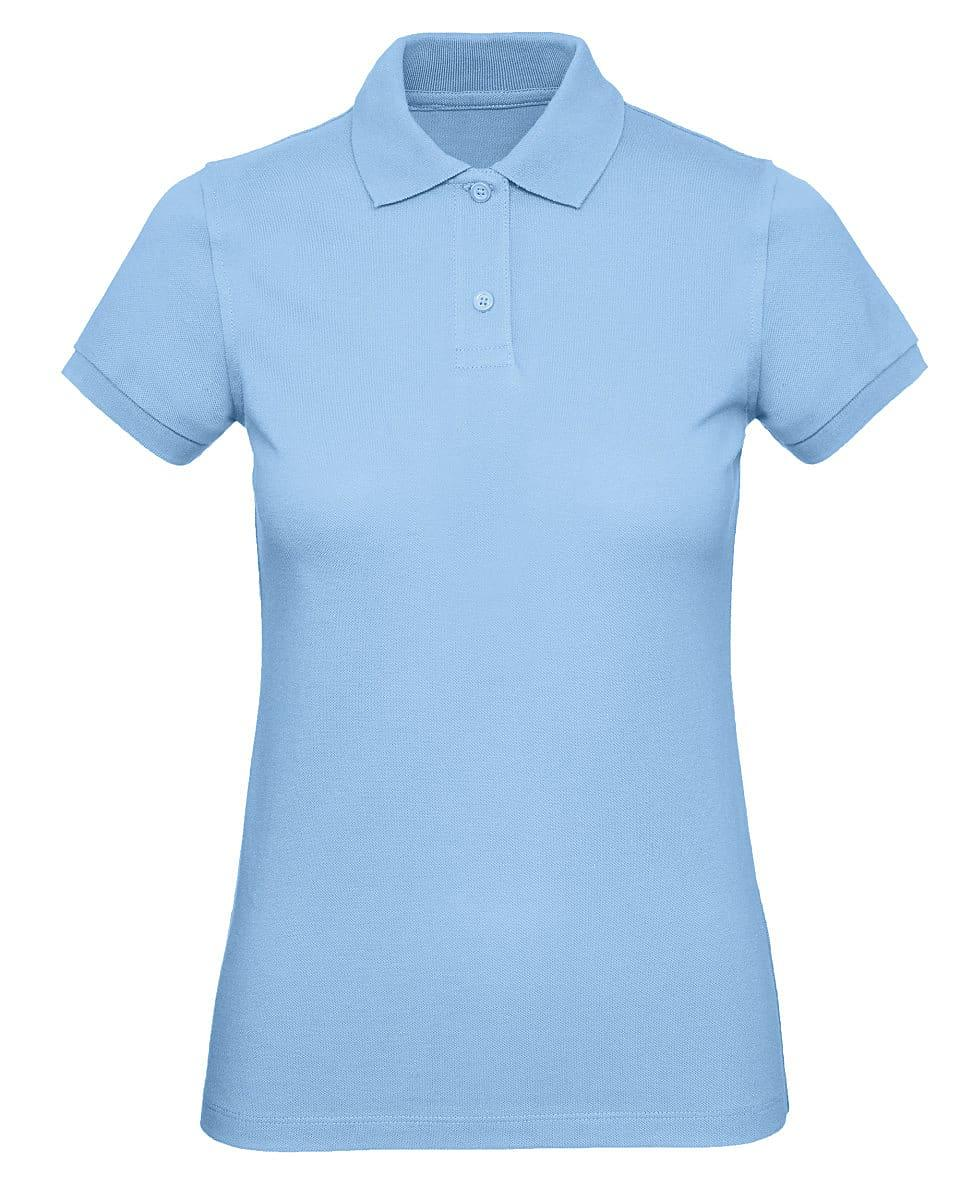B&C Womens Inspire Polo Shirt in Sky Blue (Product Code: PW440)