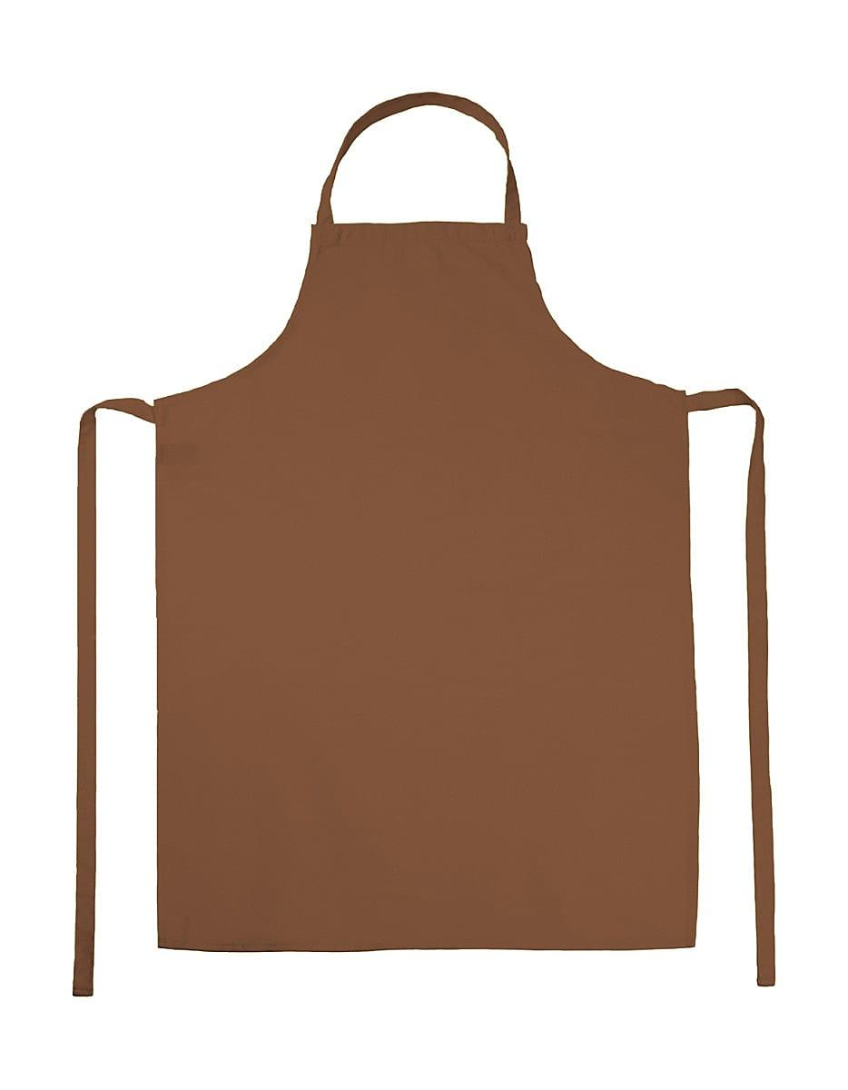Jassz Bistro Paris Bib Apron in Burnt Orange (Product Code: JG21)
