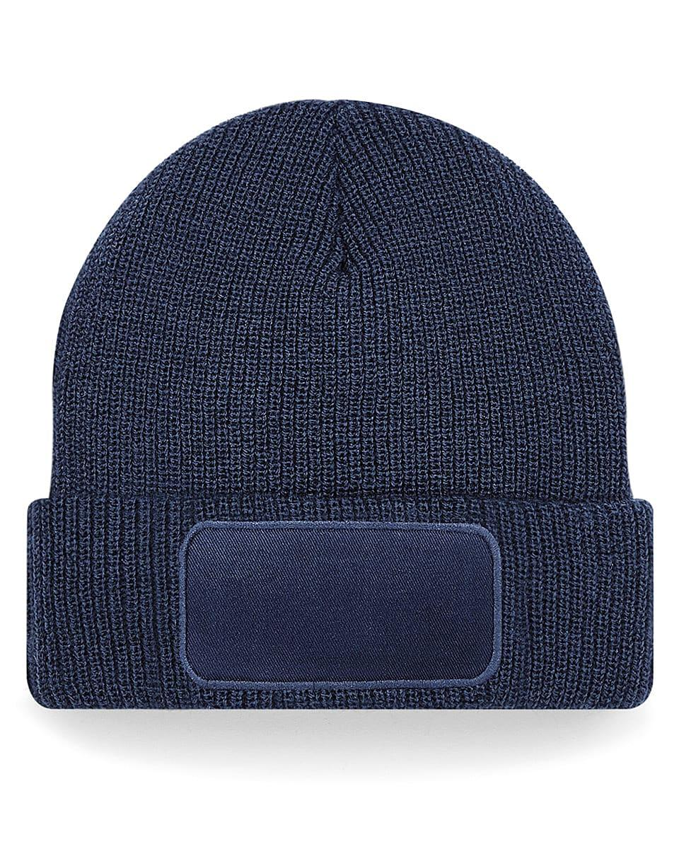 Beechfield Thinsulate Printer Beanie Hat in French Navy (Product Code: B440)