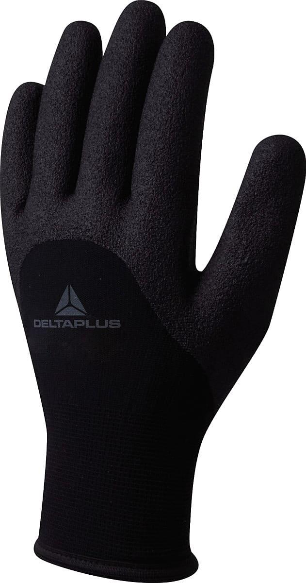Delta Plus Hercule Knitted Gloves in Black (Product Code: VV750)