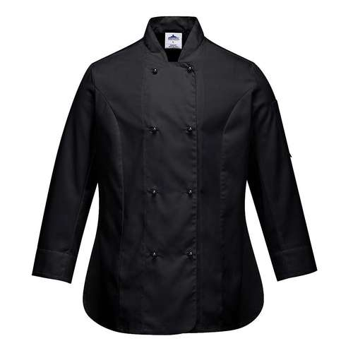 Portwest Rachel Womens Long-Sleeve Chefs Jacket