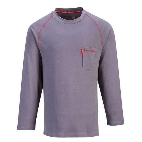 Portwest Bizflame FR Crew Neck Long-Sleeve Top