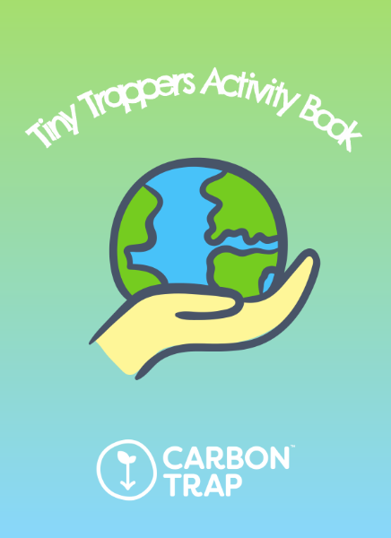 The Tiny Trapper Activity Book Front Cover