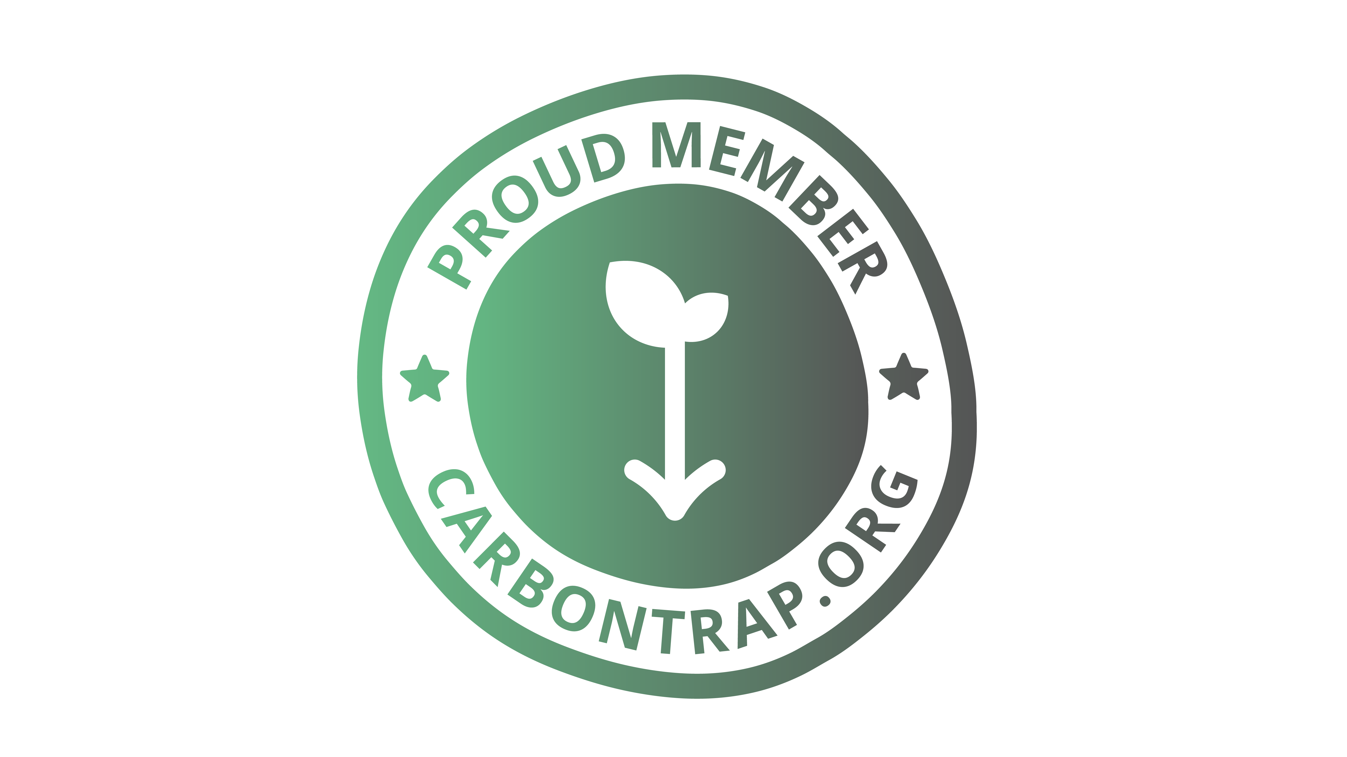 Carbon Trap member logo - supporters of our mission to make Earth a better place