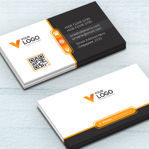 450gsm Silk Business Cards