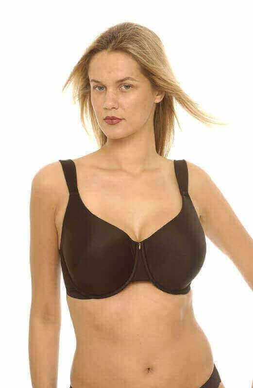 Black Moulded Cup T-Shirt Bra