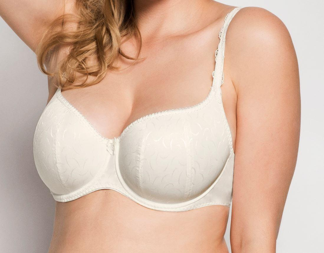 Maxima Low Cut Bra Ecru