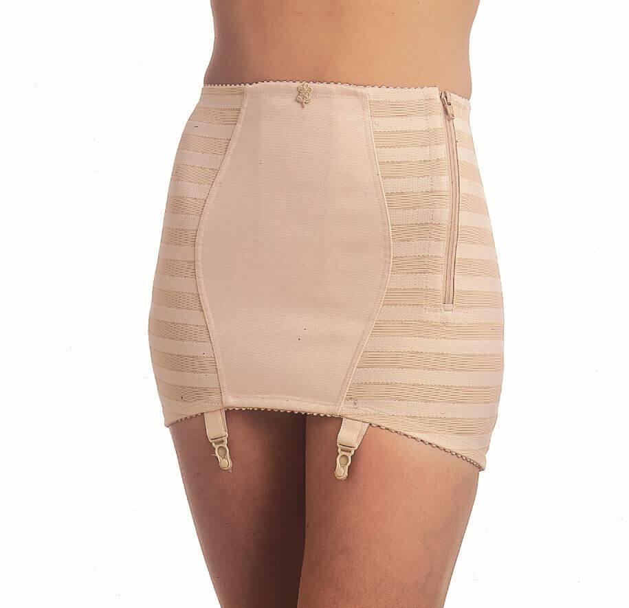 Firm Control Open Bottom Girdle Side Zip