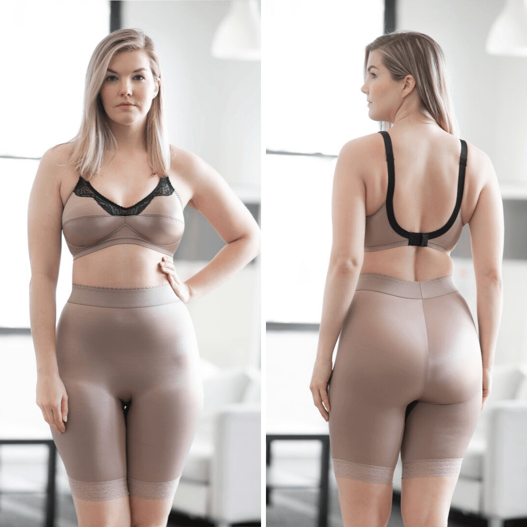 High Waist Long Leg Light Shaper Beige