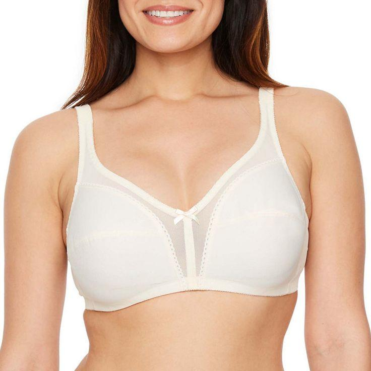 White T-Shirt Wire Free Bra