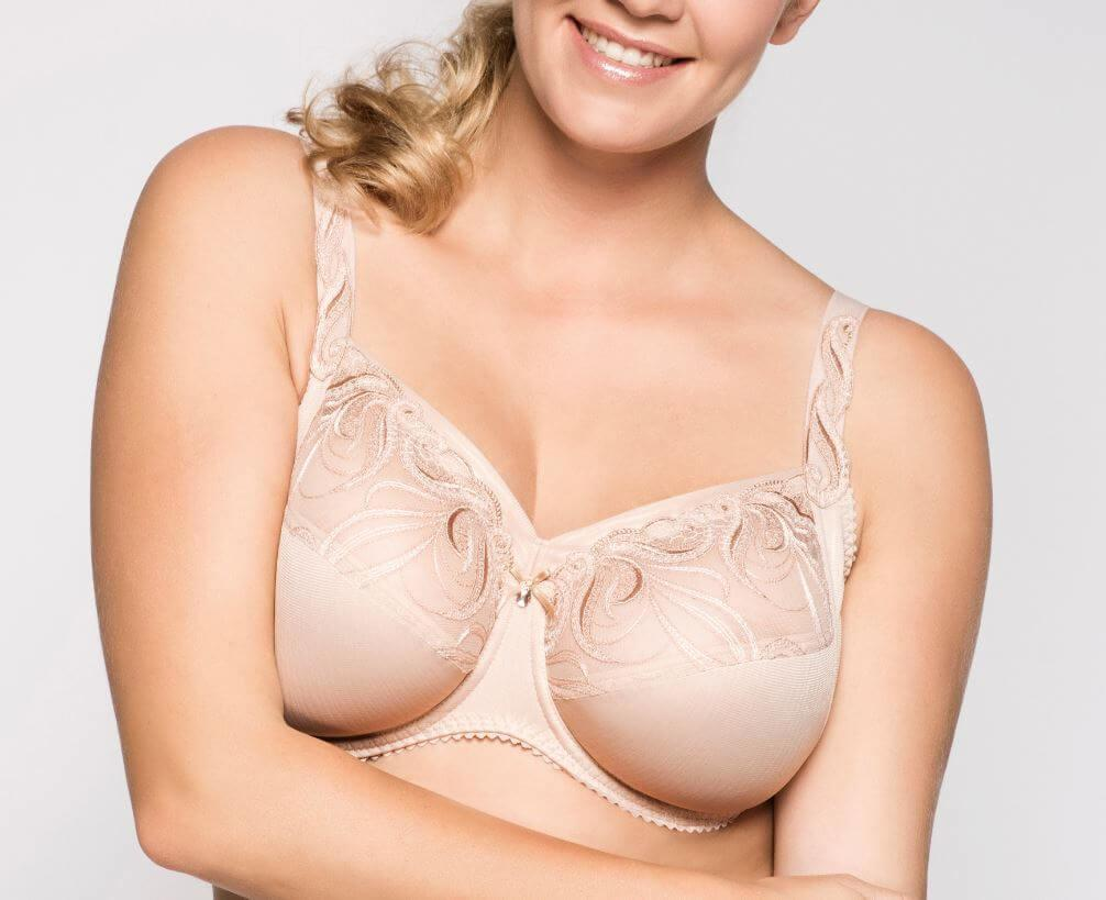 Cappuccino Carmen Underwired Bra up to L Cup