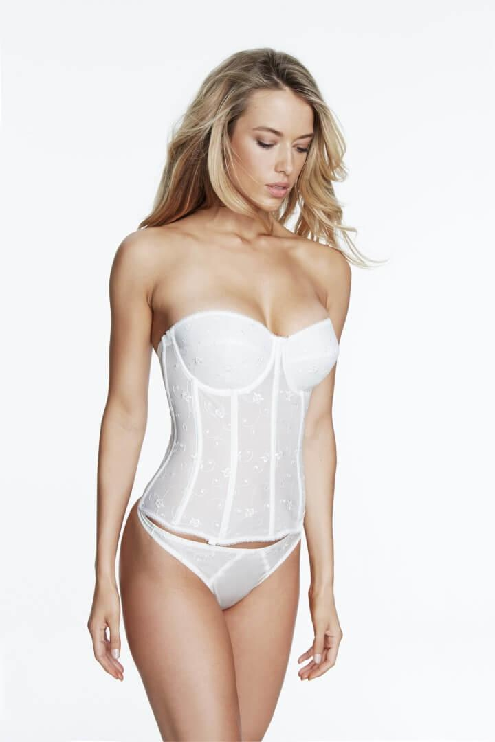 Bridal Strapless Basque