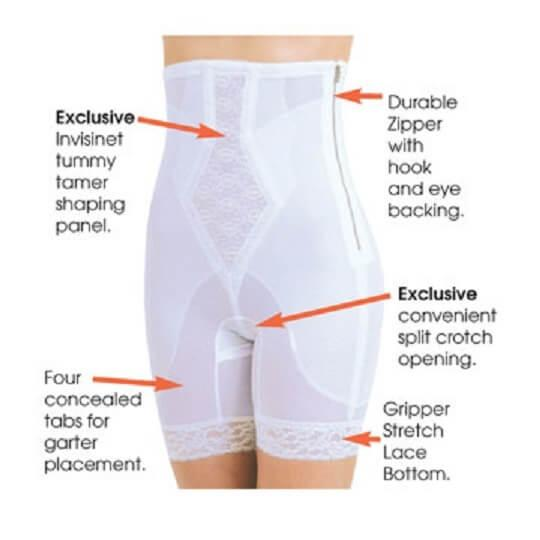 High Waist  Long Leg Tummy Shaper details