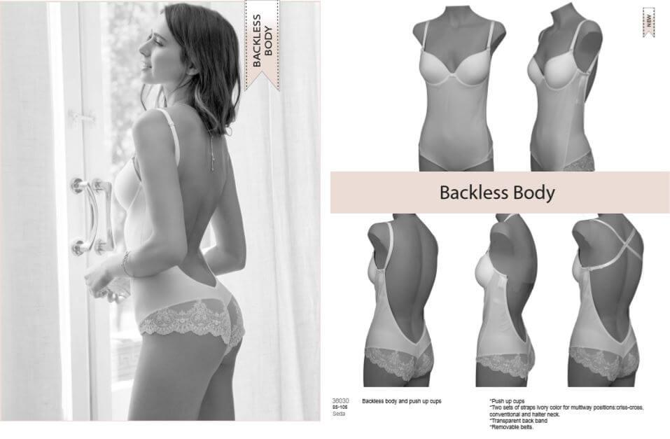 Harmony Backless Body details