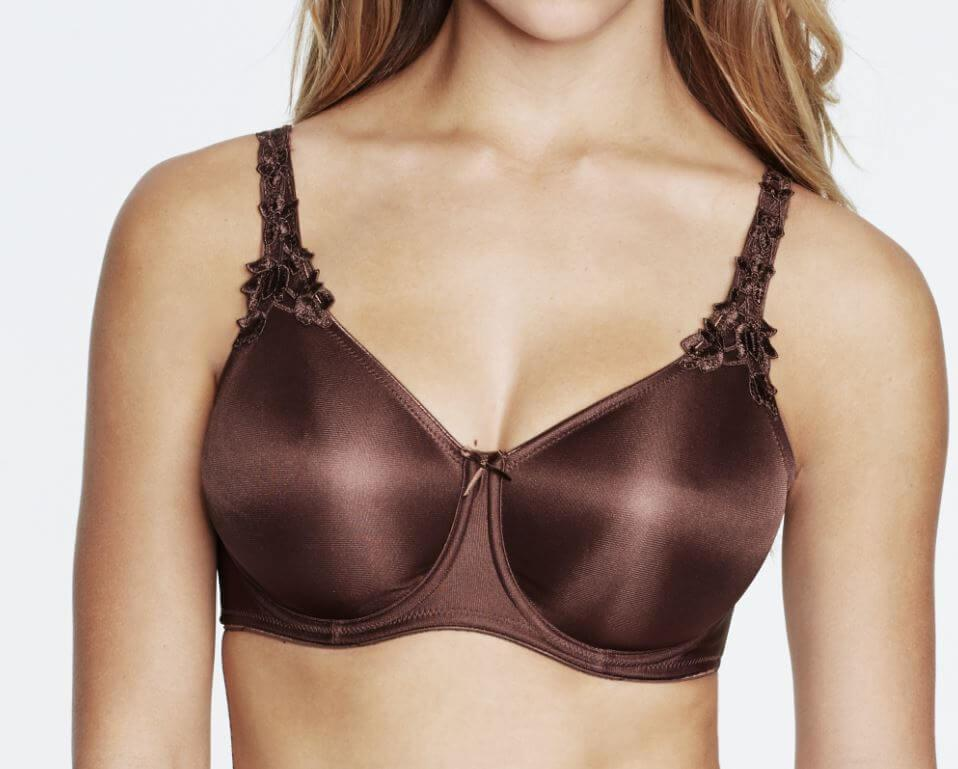 Seamless Minimser Bra Chocolate
