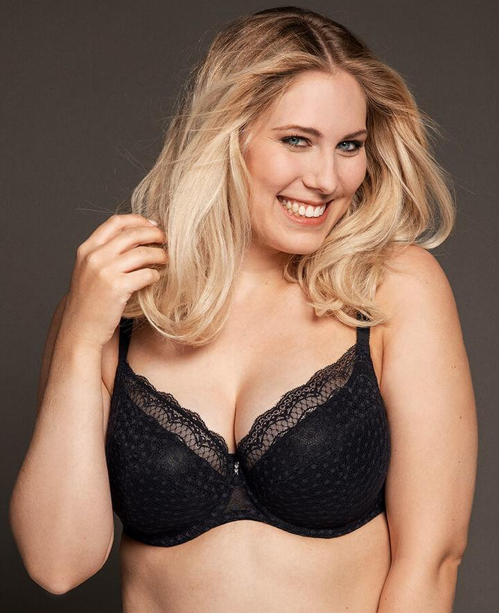 Black Josy Underwired Padded Bra