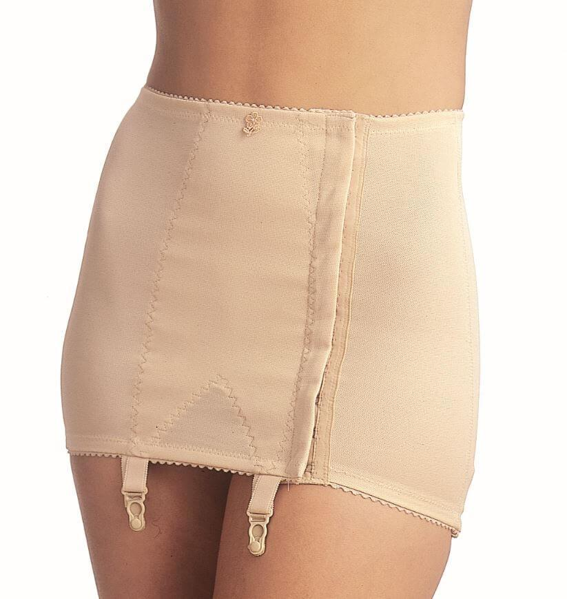 Open Bottom Girdle With Front Hook & Eye