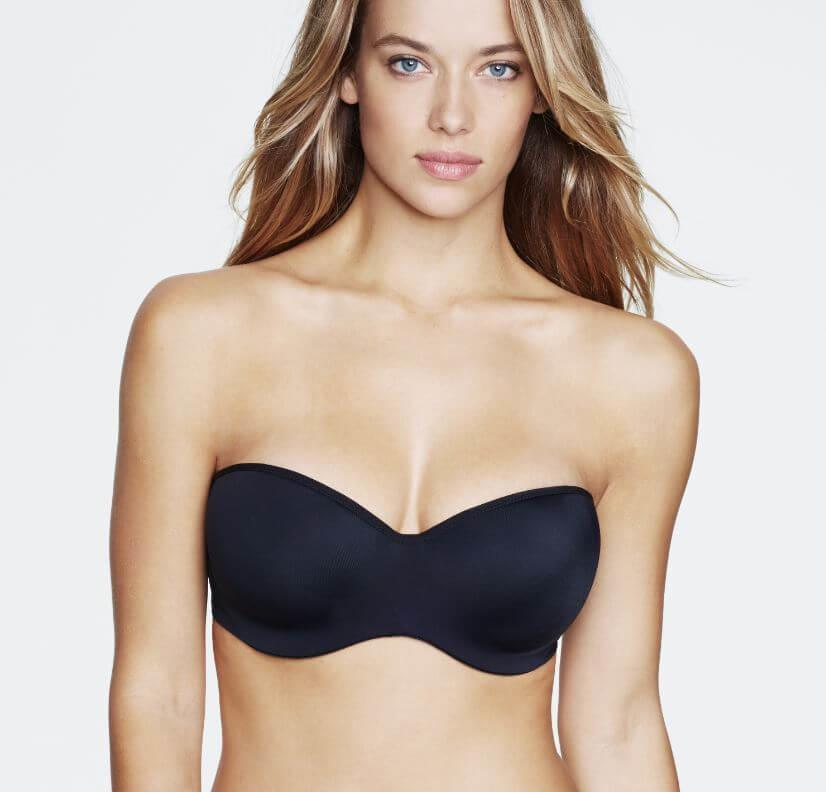 Black Strapless Bra from Dominique