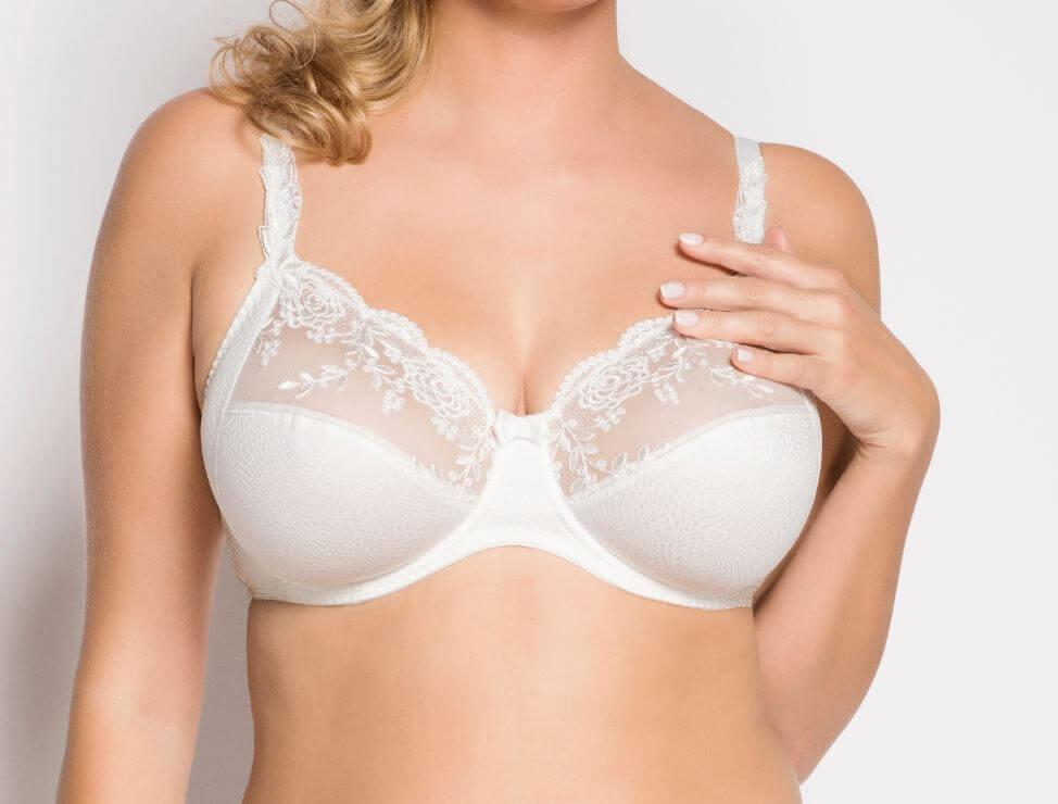 Ecru Ella Underwired Bra up to G cup
