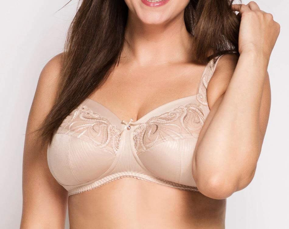 Cappuccino Carmen Bra Without Wire