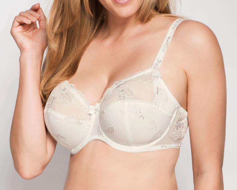 Ecru Carla Underwired Large Cup Bra