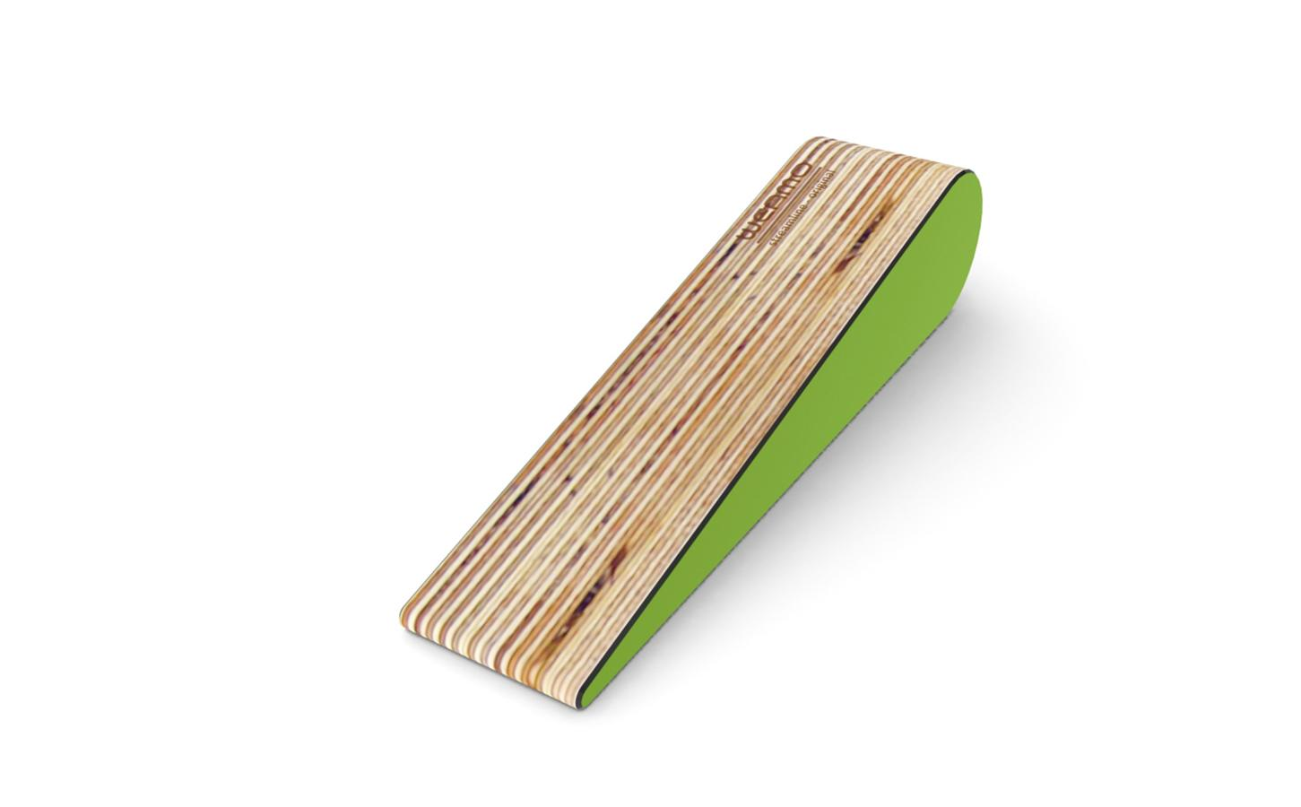 Streamline Original Doorstop _ Peapod Green
