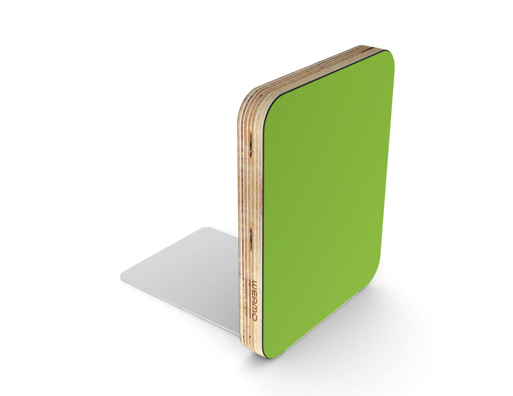 Peapod Green - Streamline Original Bookend