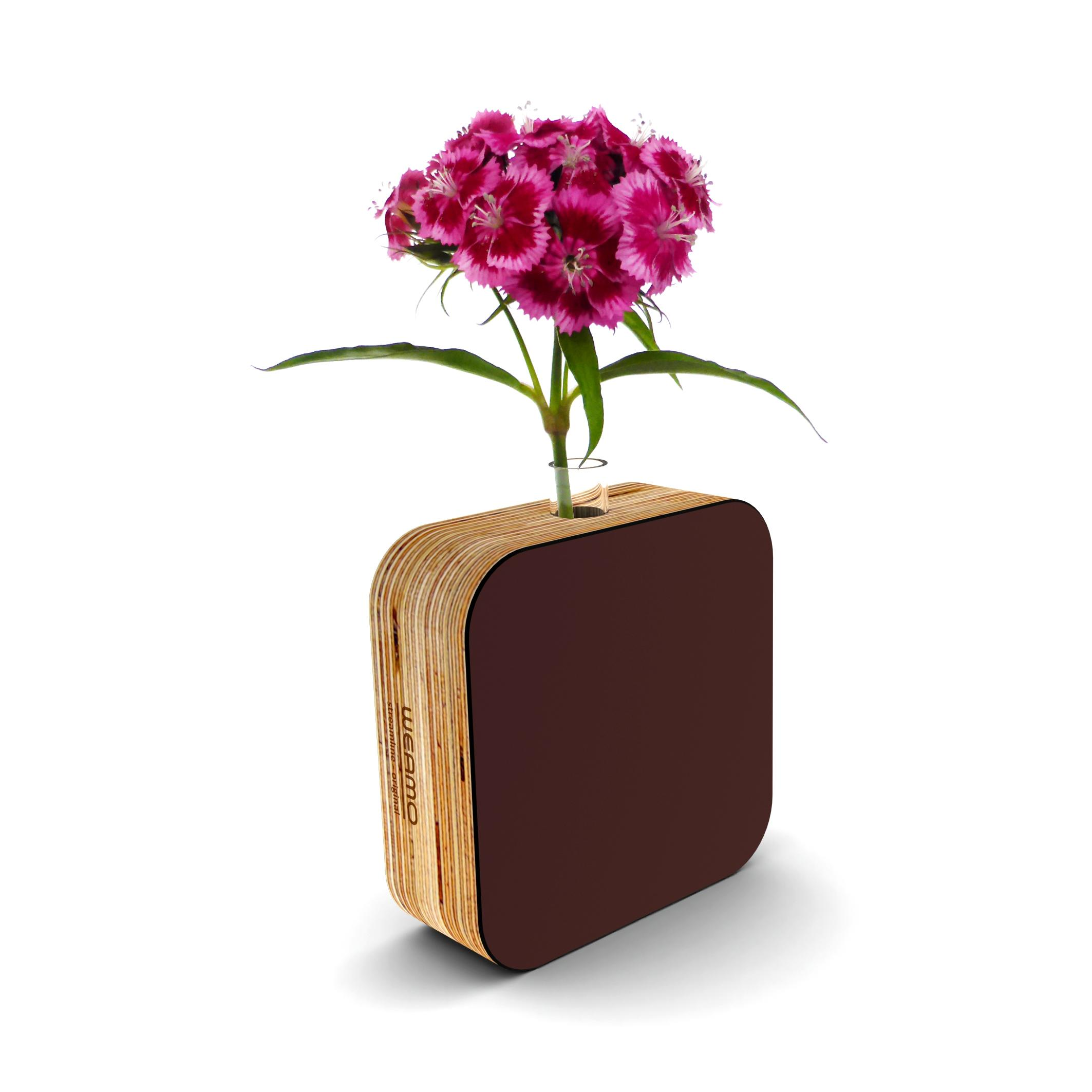 Streamline Original Bud Vase Chocolate Brownie