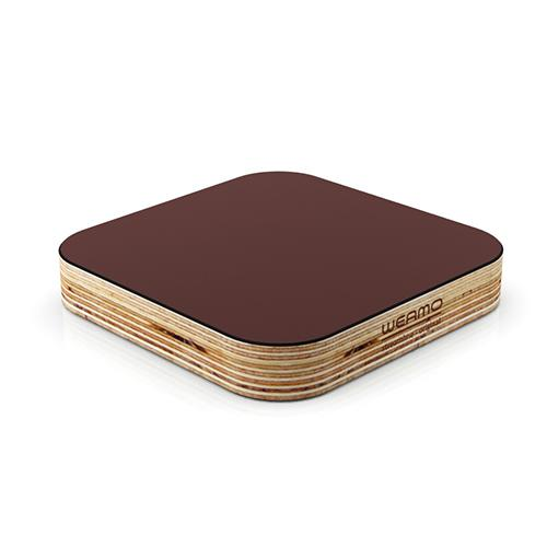 Streamline Original Coaster Chocolate Brownie Deep Brown