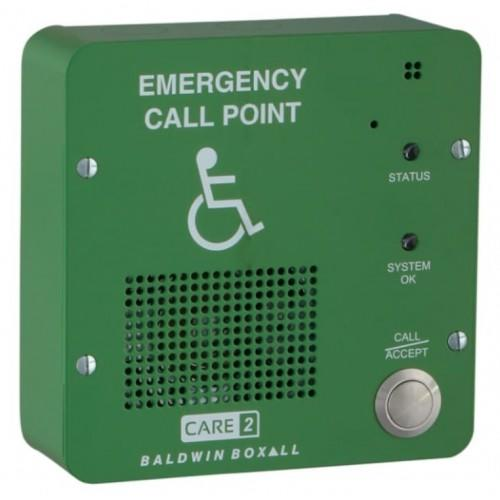 Baldwin Boxall CARE2 C2RRG Type-B Disabled Refuge Remote Green
