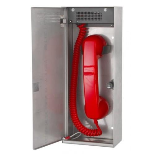Baldwin Boxall CARE2 C2FTSP Type-A Fire Telephone With Push Door Stainless Steel