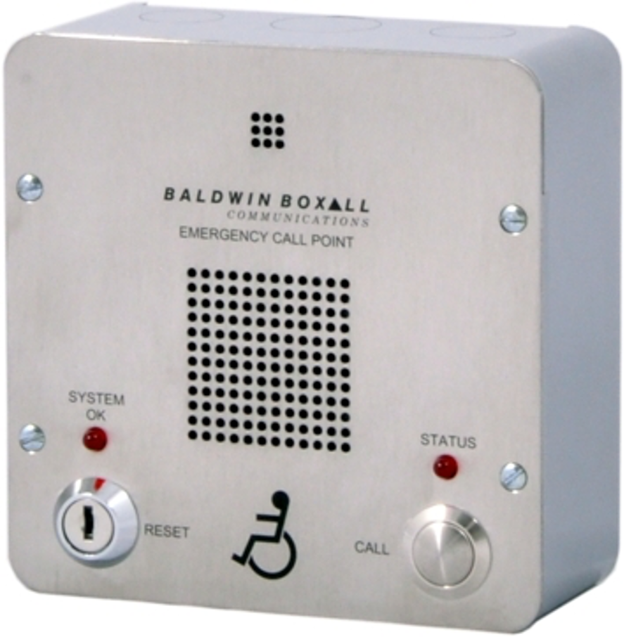 Baldwin Boxall OmniCare BVOCECPS Type-B Disabled Refuge Remote Stainless Steel