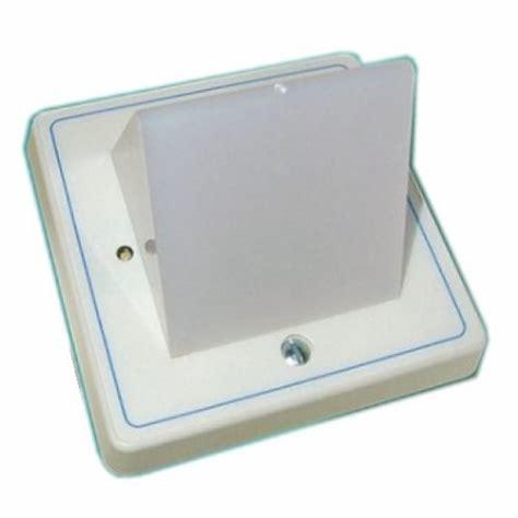 Baldwin Boxall OmniCare & CARE2 BVOCODL Overdoor Light Triangular Lens & Sounder White