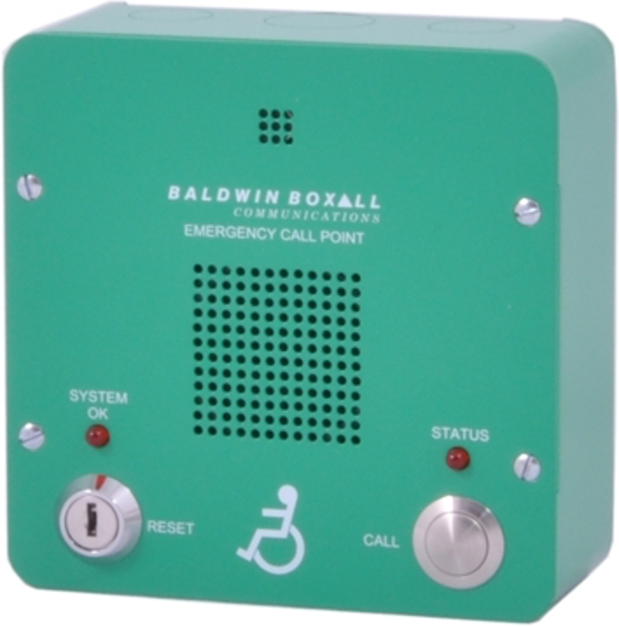 Baldwin Boxall OmniCare BVOCECPG Type-B Disabled Refuge Remote Green