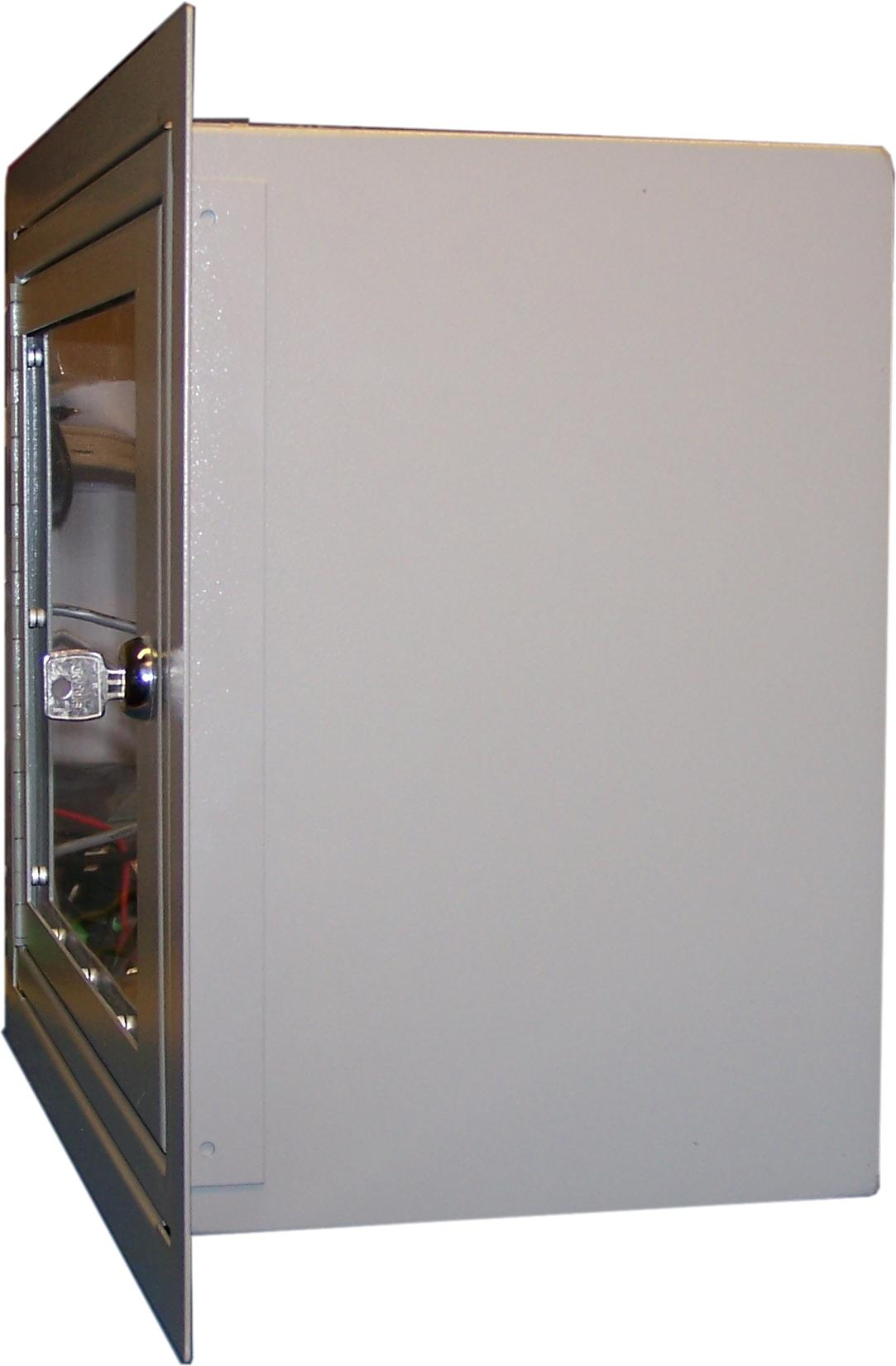 PAI Group Web Shop | Baldwin Boxall OmniCare BVCRFB1 Control Panel Flush 48-64 Way Panel Bezel Grey