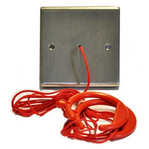 Baldwin Boxall OmniCare & CARE2 DTASCP Disabled Toilet Alarm Ceiling Pull Cord Stainless Steel