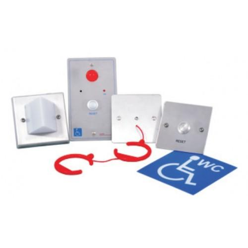 Baldwin Boxall OmniCare & CARE2 BVOCDTAS2 Disabled Toilet Alarm Assistance Call Kit Stainless Steel