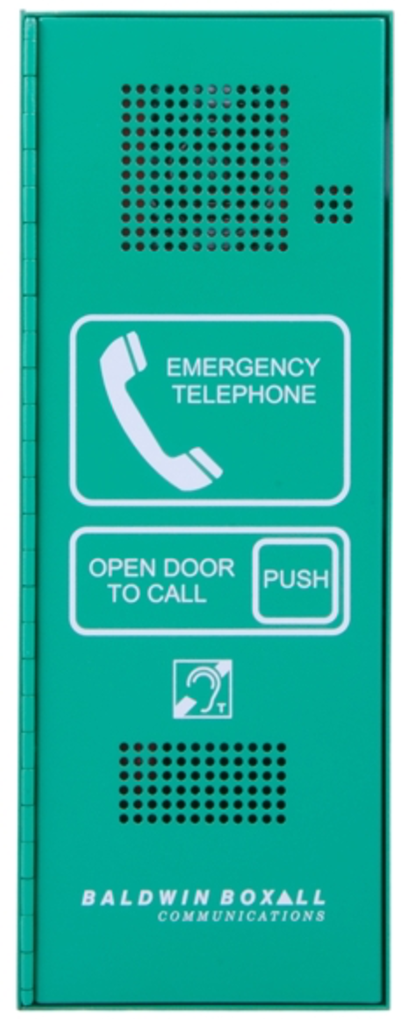Baldwin Boxall OmniCare BVOCET Type-A Steward Telephone Green