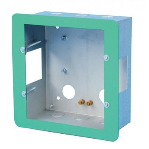 Baldwin Boxall CARE2 C2RRGPB Type-B Disabled Refuge Remote Plasterboard Backbox Flush Bezel Green