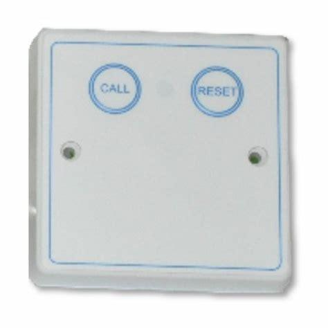 Baldwin Boxall OmniCare & CARE2 DTACBRP Disabled Toilet Alarm Call Button & Reset Point White