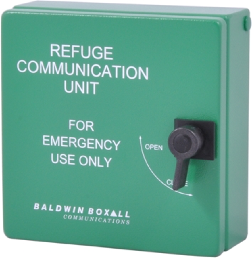 Baldwin Boxall OmniCare BVCRIPBG Type-B IP65 Enclosure For Disabled Refuge Remote (Green)