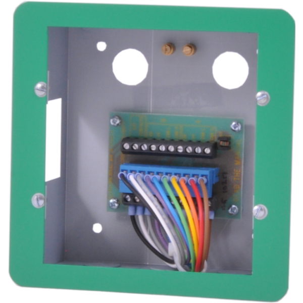 Baldwin Boxall OmniCare BVCRFBG Type-B Disabled Refuge Remote BVOCECPG Plasterboard BackBox includes Flush Bezel Green