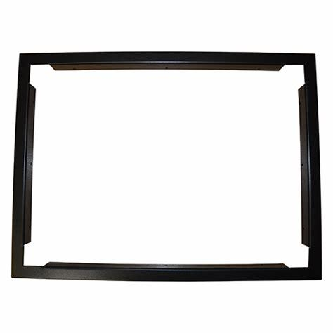 Baldwin Boxall CARE2 C2CBZ Control Panel Flush Bezel Black
