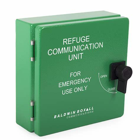 Baldwin Boxall CARE2 C2RRBIP Type-B IP65 Enclosure For Disabled Refuge Remote Green