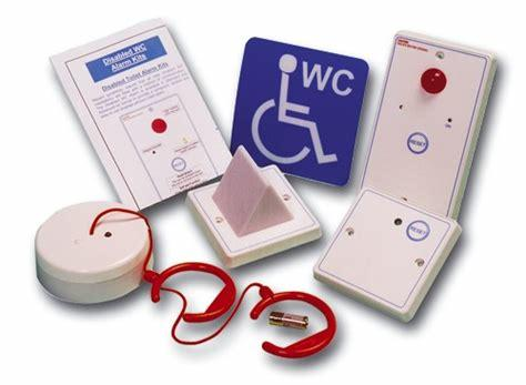 Baldwin Boxall OmniCare & CARE2 BVOCDTA Disabled Toilet Alarm Assistance Call Kit White