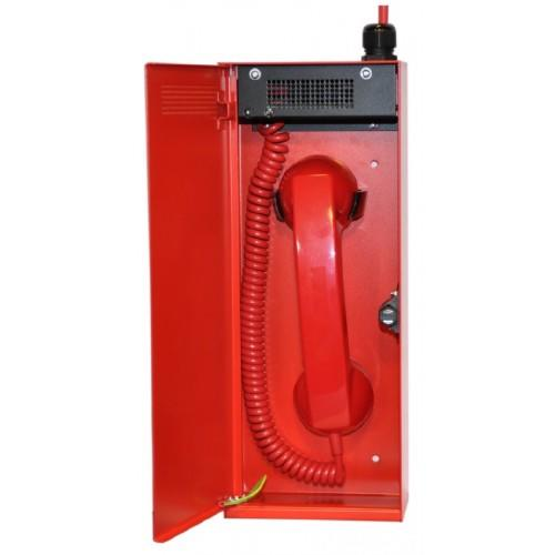 Baldwin Boxall CARE2 C2FTRL Type-A Fire Telephone With Locking Door Red