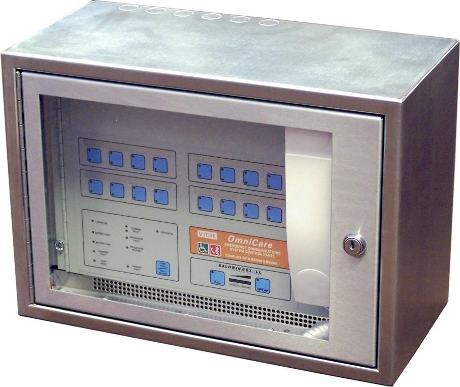 PAI Group Web Shop | Baldwin Boxall OmniCare BVOC16MS Mini Master Control Panel 16-Way Steel